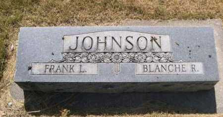 JOHNSON, BLANCHE R. - Dawes County, Nebraska | BLANCHE R. JOHNSON - Nebraska Gravestone Photos