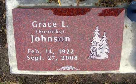 JOHNSON, GRACE L. - Dawes County, Nebraska   GRACE L. JOHNSON - Nebraska Gravestone Photos