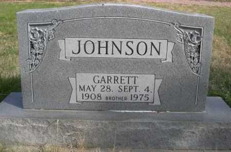 JOHNSON, GARRETT - Dawes County, Nebraska | GARRETT JOHNSON - Nebraska Gravestone Photos