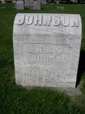 JOHNSON, JOHN D. - Dawes County, Nebraska | JOHN D. JOHNSON - Nebraska Gravestone Photos