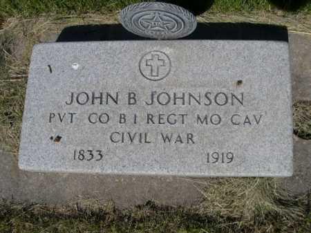 JOHNSON, JOHN B. - Dawes County, Nebraska | JOHN B. JOHNSON - Nebraska Gravestone Photos