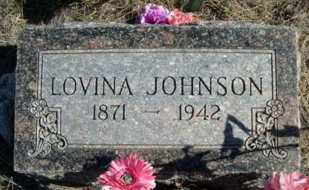 JOHNSON, LOVINA - Dawes County, Nebraska | LOVINA JOHNSON - Nebraska Gravestone Photos