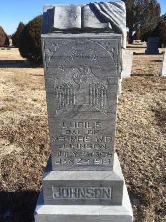 JOHNSON, LUCILE - Dawes County, Nebraska | LUCILE JOHNSON - Nebraska Gravestone Photos