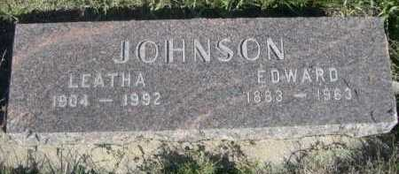 JOHNSON, LEATHA - Dawes County, Nebraska | LEATHA JOHNSON - Nebraska Gravestone Photos