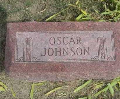 JOHNSON, OSCAR - Dawes County, Nebraska | OSCAR JOHNSON - Nebraska Gravestone Photos