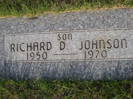JOHNSON, RICHARD D. - Dawes County, Nebraska | RICHARD D. JOHNSON - Nebraska Gravestone Photos