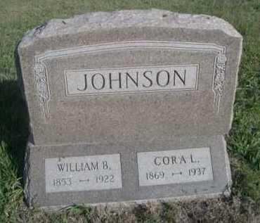 JOHNSON, CORA L. - Dawes County, Nebraska | CORA L. JOHNSON - Nebraska Gravestone Photos