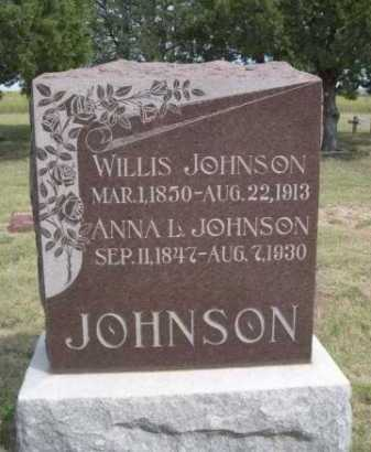 JOHNSON, WILLIS - Dawes County, Nebraska | WILLIS JOHNSON - Nebraska Gravestone Photos