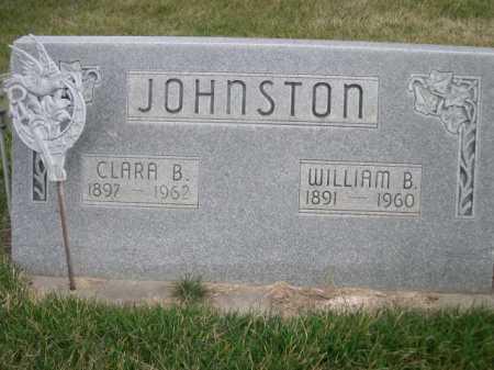 JOHNSTON, CLARA B. - Dawes County, Nebraska | CLARA B. JOHNSTON - Nebraska Gravestone Photos