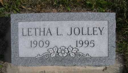 JOLLEY, LETHA L. - Dawes County, Nebraska | LETHA L. JOLLEY - Nebraska Gravestone Photos