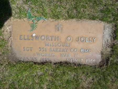 JOLLY, ELLSWORTH O. - Dawes County, Nebraska | ELLSWORTH O. JOLLY - Nebraska Gravestone Photos
