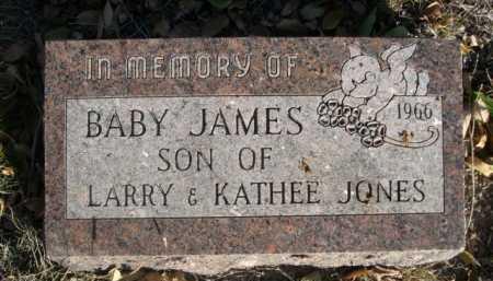 JONES, BABY JAMES - Dawes County, Nebraska | BABY JAMES JONES - Nebraska Gravestone Photos