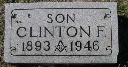 JONES, CLINTON F. - Dawes County, Nebraska | CLINTON F. JONES - Nebraska Gravestone Photos