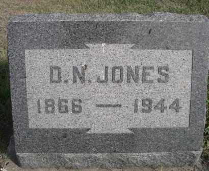 JONES, D.N. - Dawes County, Nebraska | D.N. JONES - Nebraska Gravestone Photos