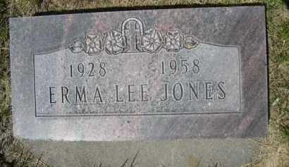 JONES, ERMA LEE - Dawes County, Nebraska   ERMA LEE JONES - Nebraska Gravestone Photos