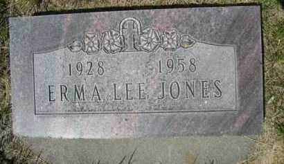 JONES, ERMA LEE - Dawes County, Nebraska | ERMA LEE JONES - Nebraska Gravestone Photos