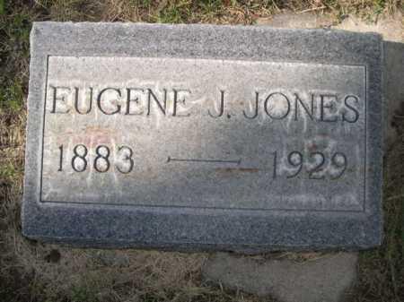 JONES, EUGENE J. - Dawes County, Nebraska | EUGENE J. JONES - Nebraska Gravestone Photos
