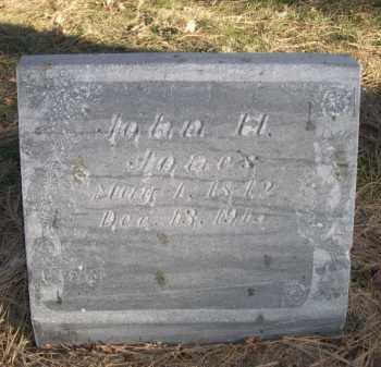 JONES, JOHN H. - Dawes County, Nebraska | JOHN H. JONES - Nebraska Gravestone Photos
