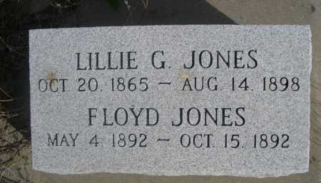 JONES, LILLIE G. - Dawes County, Nebraska | LILLIE G. JONES - Nebraska Gravestone Photos