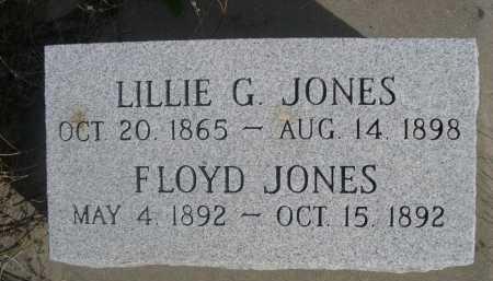 JONES, LILLIE G. - Dawes County, Nebraska | LILLIE G. JONES - Nebraska Gravestone Photos