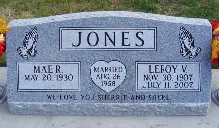 JONES, LEROY V. - Dawes County, Nebraska | LEROY V. JONES - Nebraska Gravestone Photos
