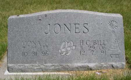 JONES, H.C. BILL - Dawes County, Nebraska | H.C. BILL JONES - Nebraska Gravestone Photos