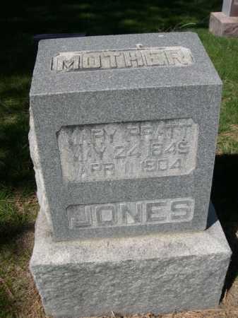 PRATT JONES, MARY - Dawes County, Nebraska | MARY PRATT JONES - Nebraska Gravestone Photos
