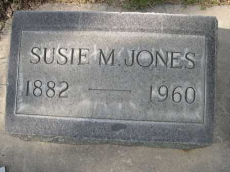JONES, SUSIE M. - Dawes County, Nebraska | SUSIE M. JONES - Nebraska Gravestone Photos