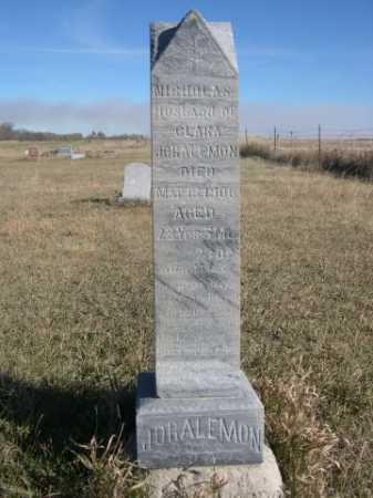 JORALEMON, NICHOLAS - Dawes County, Nebraska | NICHOLAS JORALEMON - Nebraska Gravestone Photos
