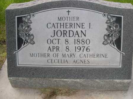 JORDAN, CATHERINE I. - Dawes County, Nebraska | CATHERINE I. JORDAN - Nebraska Gravestone Photos