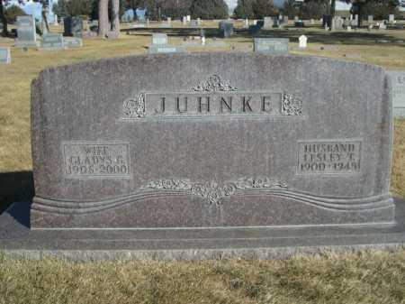 JUHNKE, GLADYS G. - Dawes County, Nebraska | GLADYS G. JUHNKE - Nebraska Gravestone Photos