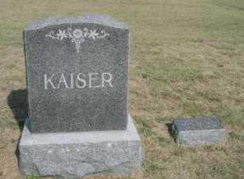 KAISER, FAMILY - Dawes County, Nebraska | FAMILY KAISER - Nebraska Gravestone Photos