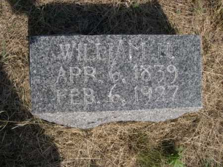KAISER, WILLIAM H. - Dawes County, Nebraska | WILLIAM H. KAISER - Nebraska Gravestone Photos