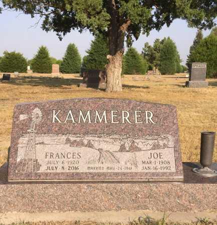 KAMMERER, FRANCES - Dawes County, Nebraska | FRANCES KAMMERER - Nebraska Gravestone Photos