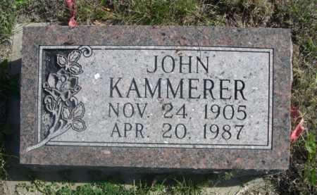 KAMMERER, JOHN - Dawes County, Nebraska | JOHN KAMMERER - Nebraska Gravestone Photos