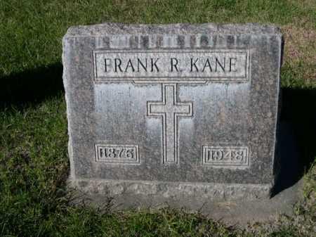 KANE, FRANK R. - Dawes County, Nebraska | FRANK R. KANE - Nebraska Gravestone Photos