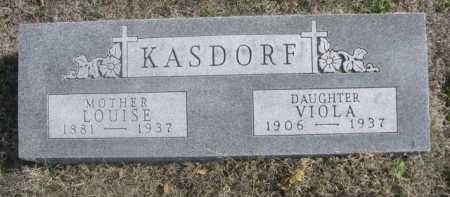 KASDORF, VIOLA - Dawes County, Nebraska | VIOLA KASDORF - Nebraska Gravestone Photos