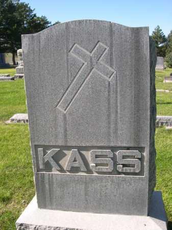 KASS, FAMILY - Dawes County, Nebraska   FAMILY KASS - Nebraska Gravestone Photos