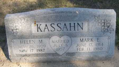 KASSAHN, HELEN M. - Dawes County, Nebraska | HELEN M. KASSAHN - Nebraska Gravestone Photos