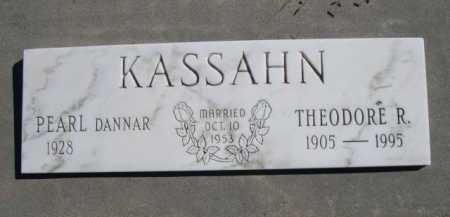 KASSAHN, THEODORE R. - Dawes County, Nebraska | THEODORE R. KASSAHN - Nebraska Gravestone Photos