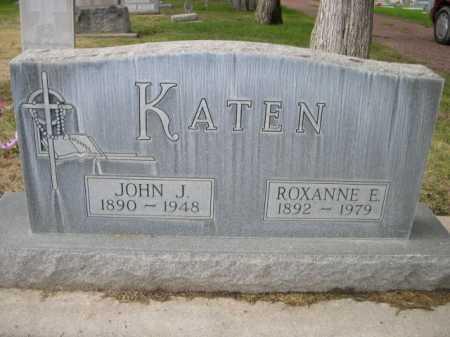 KATEN, ROXANNE E - Dawes County, Nebraska | ROXANNE E KATEN - Nebraska Gravestone Photos