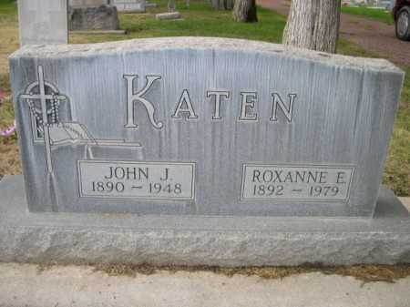 KATEN, JOHN J. - Dawes County, Nebraska   JOHN J. KATEN - Nebraska Gravestone Photos