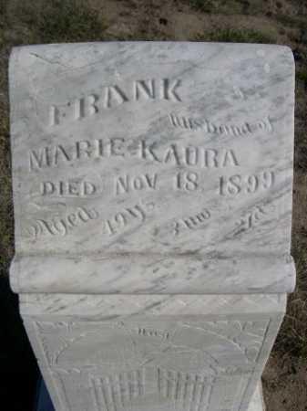KAURA, FRANK - Dawes County, Nebraska | FRANK KAURA - Nebraska Gravestone Photos