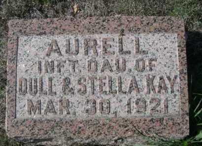 KAY, AURELL - Dawes County, Nebraska | AURELL KAY - Nebraska Gravestone Photos