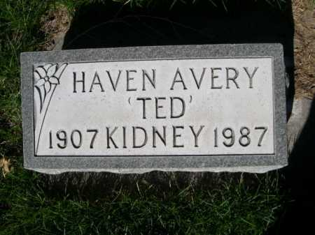 "KIDNEY, HAVEN AVERY ""TED"" - Dawes County, Nebraska 