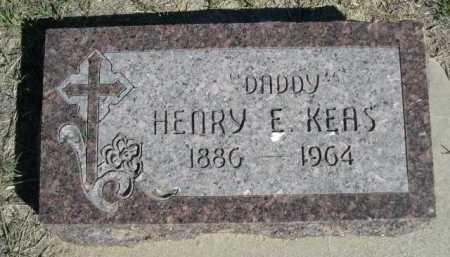 KEAS, HENRY E. - Dawes County, Nebraska | HENRY E. KEAS - Nebraska Gravestone Photos