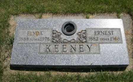 KEENEY, ELYDA - Dawes County, Nebraska | ELYDA KEENEY - Nebraska Gravestone Photos