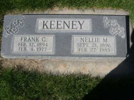 KEENEY, NELLIE M. - Dawes County, Nebraska | NELLIE M. KEENEY - Nebraska Gravestone Photos