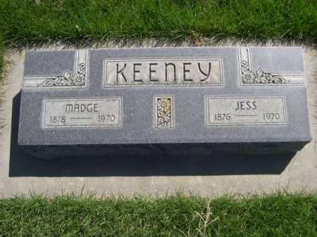 KEENEY, JESS - Dawes County, Nebraska   JESS KEENEY - Nebraska Gravestone Photos