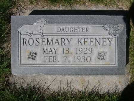 KEENEY, ROSEMARY - Dawes County, Nebraska | ROSEMARY KEENEY - Nebraska Gravestone Photos